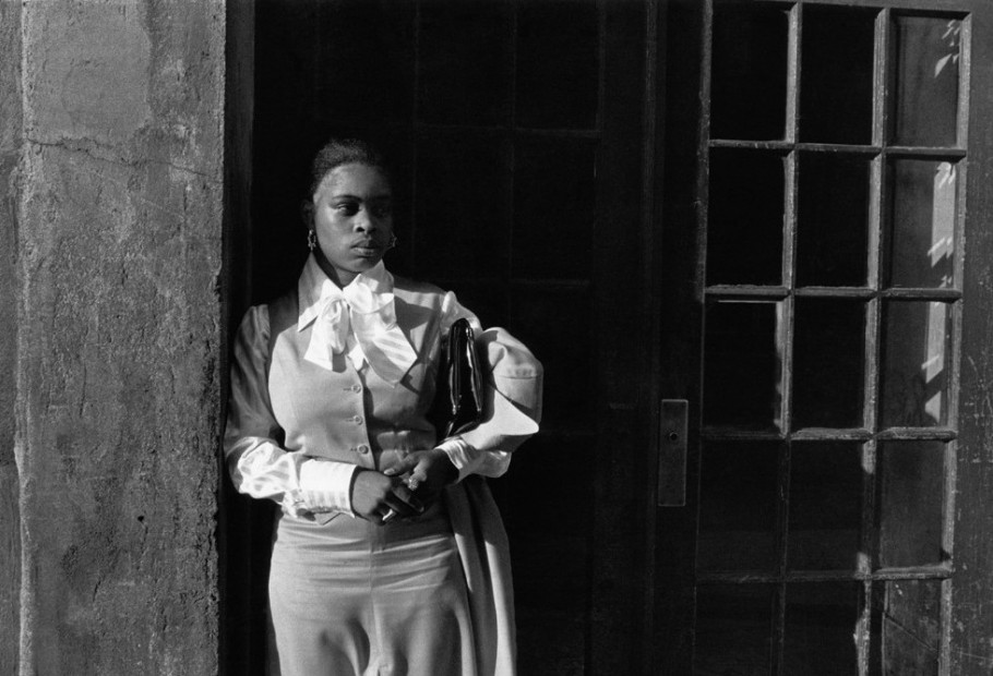 A Woman Waiting In The Doorway, 1976
