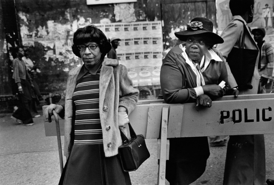 Two Women At A Parade, 1978
