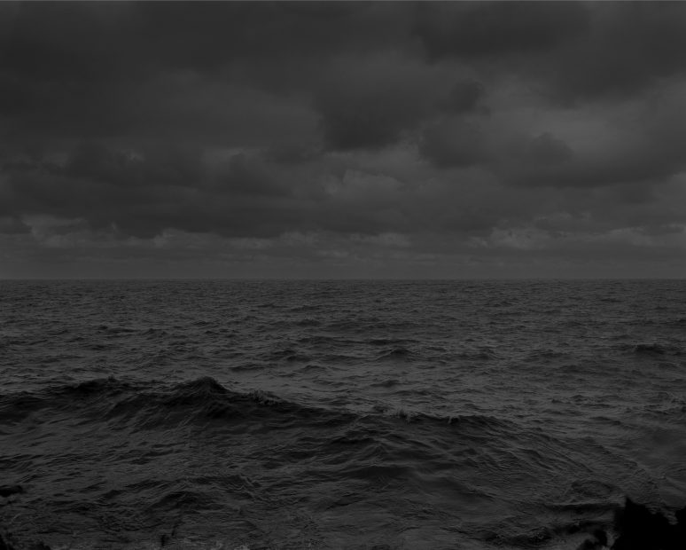 Untitled #25, (Lake Erie and Sky), from Night Coming Tenderly, Black, 2017