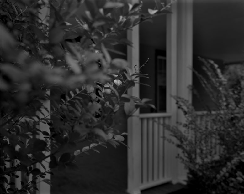 Untitled #4, (Leaves and Porch), from Night Coming Tenderly, Black, 2017