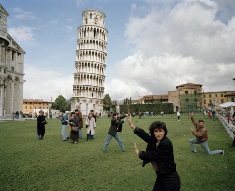 The Leaning Tower of Pisa, Pisa, Italy, 1990