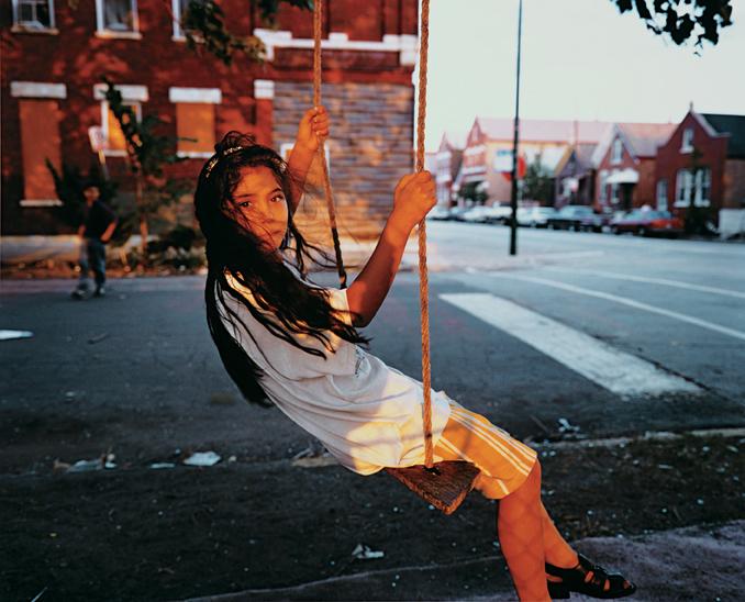 Girl on Swing, 1997
