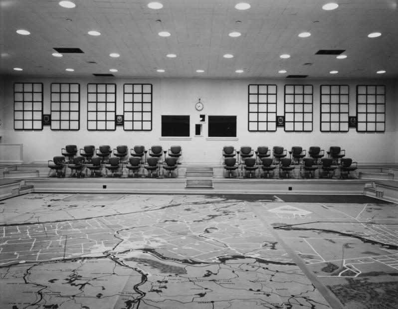Emergency Measures Auditorium, Ontario, Canada, 1980s