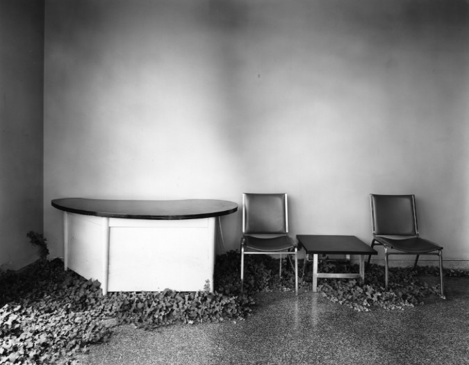 Lobby in Desolate Factory, 1980