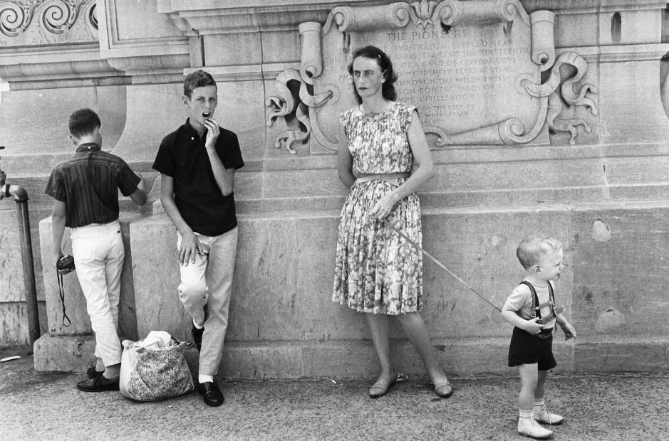 Chicago, Michigan Ave, NW Corner, 1964