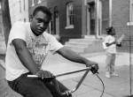 Thumbnail image: A Young Man on a Bike, 1990