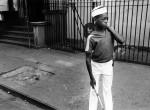 Thumbnail image: Boy from Marching Band, Harlem, 1977