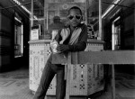 Thumbnail image: A Boy in Front of the Loews 125th Street Movie Theater, Harlem, 1976