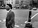 Thumbnail image: Man at Lenox and 125th Street, Harlem, 1976
