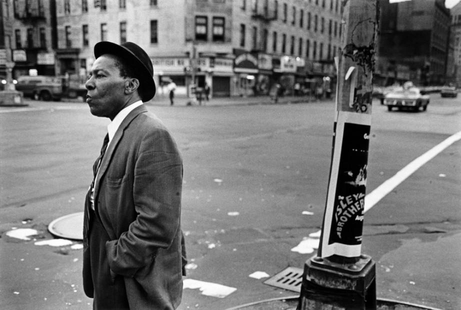 Man at Lenox and 125th Street, Harlem, 1976