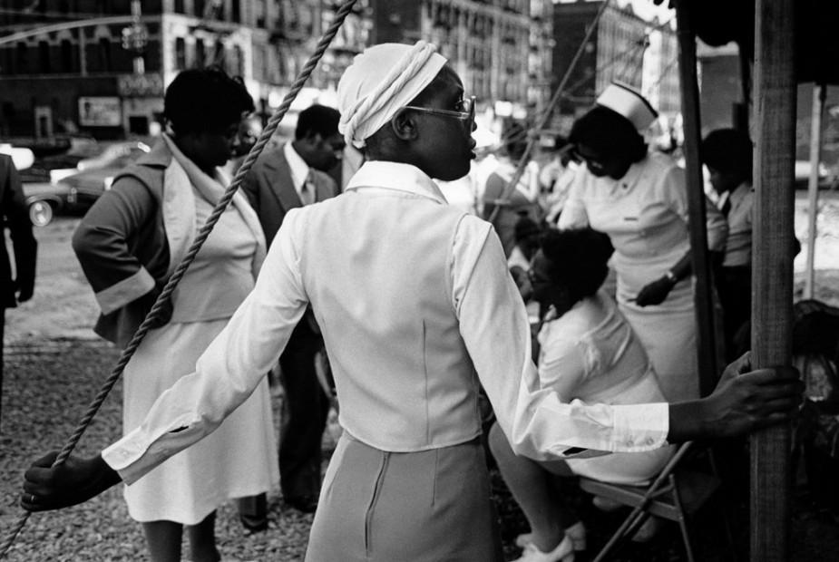 At a Revival Tent Meeting, Harlem, 1977