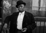 Thumbnail image: A Man in a Bowler Hat, Harlem, 1976