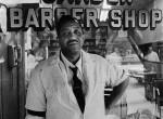 Thumbnail image: Garden Barber Shop, Harlem, 1975