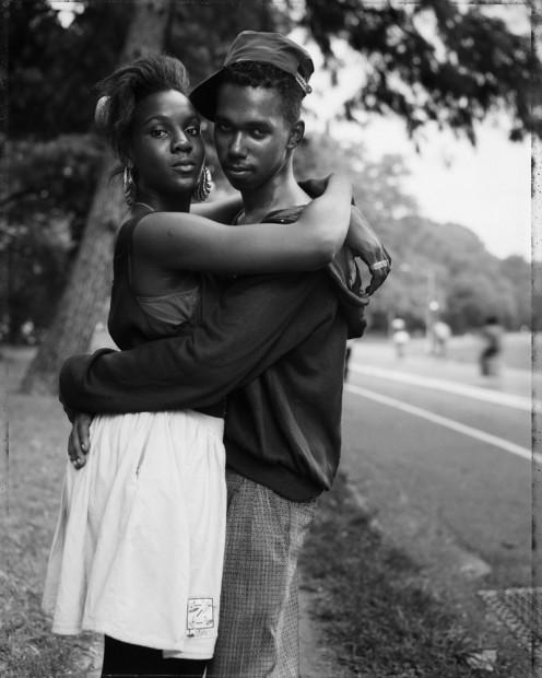 Couple in Prospect Park, 1990
