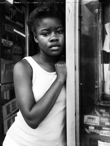 A Girl In The Deli Doorway, 1988