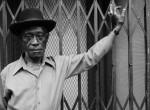 Thumbnail image: A Man at Fulton Street and Cambridge Place, 1988