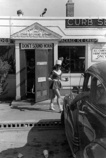 Drive-in Near Pittsburgh, 1952.