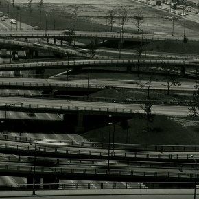 view of the Dan Ryan Expressway in Chicago
