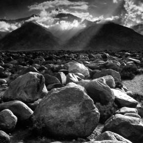 Mount Williamson from Manzanar in Sierra Nevada, California