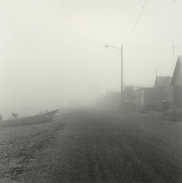 Fog, Front Street Kotzebue, June 1989