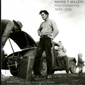 """book cover: """"Wayne F. Miller: Photographs 1942 - 1958"""""""