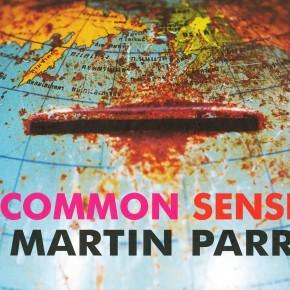 "book cover: ""Martin Parr: Common Sense"""