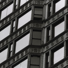 exterior view of Reliance Building windows in Chicago
