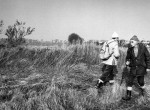 Thumbnail image: Passing Naturalists, Pagham Harbour, Sussex, 1974