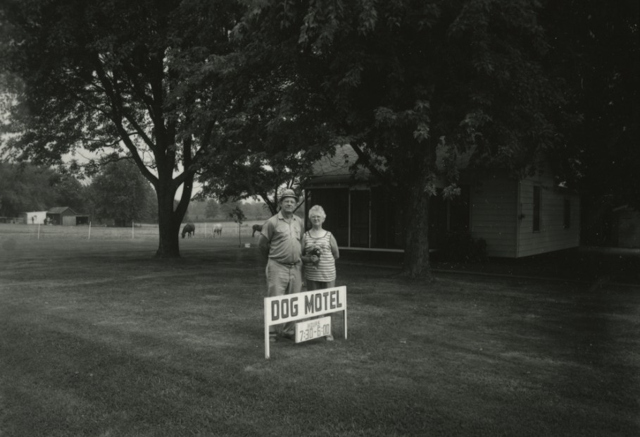 David Gremp <br> Dog Motel, Desoto, Illinois, (From Small-Family-Business Documentary), 1976