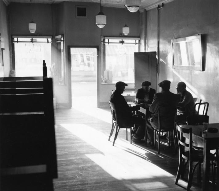 Front Street, Rochester, NY, c. 1956-57