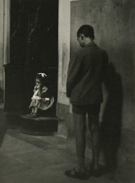 In a Church, Italy, 1953