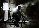Thumbnail image: Bicyclist, Naples, Italy