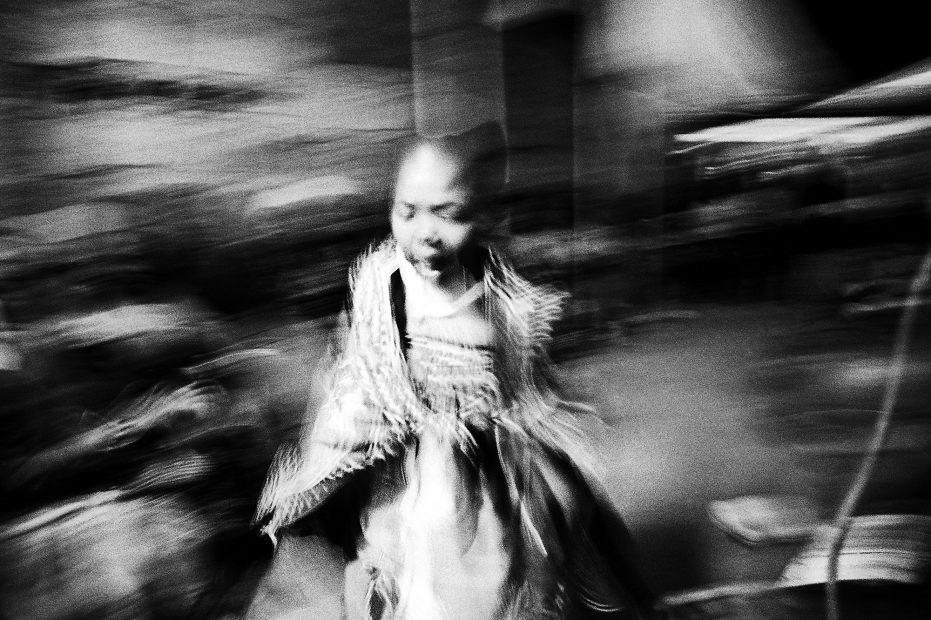 Andrew Tshabangu<br>Portrait of a Young Twasa, 2008
